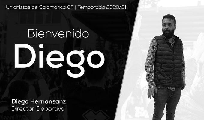Unionistas anuncia a Diego Hernansanz como director deportivo