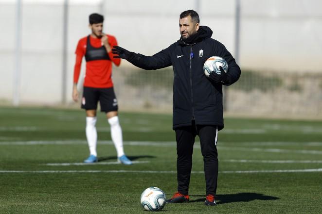 """Diego Martínez: """"El partido contra el Espanyol es para disfrutar"""""""