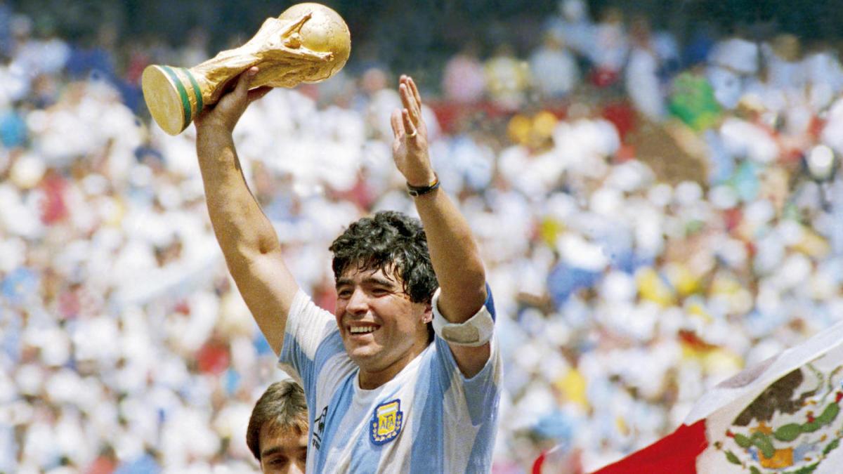 Por Maradona, por estas lagrimas