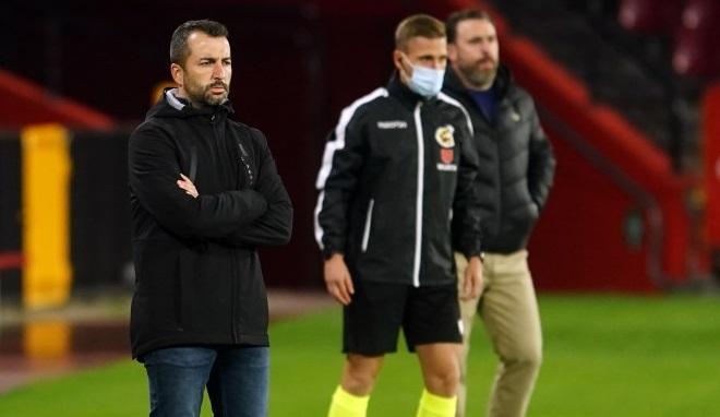 Diego Martínez en el partido contra el Valladolid | Foto: Pepe Villoslada / Granada CF