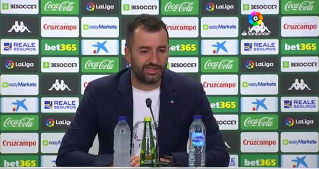 """Diego Martínez: """"El equipo ha demostrado sus valores"""""""