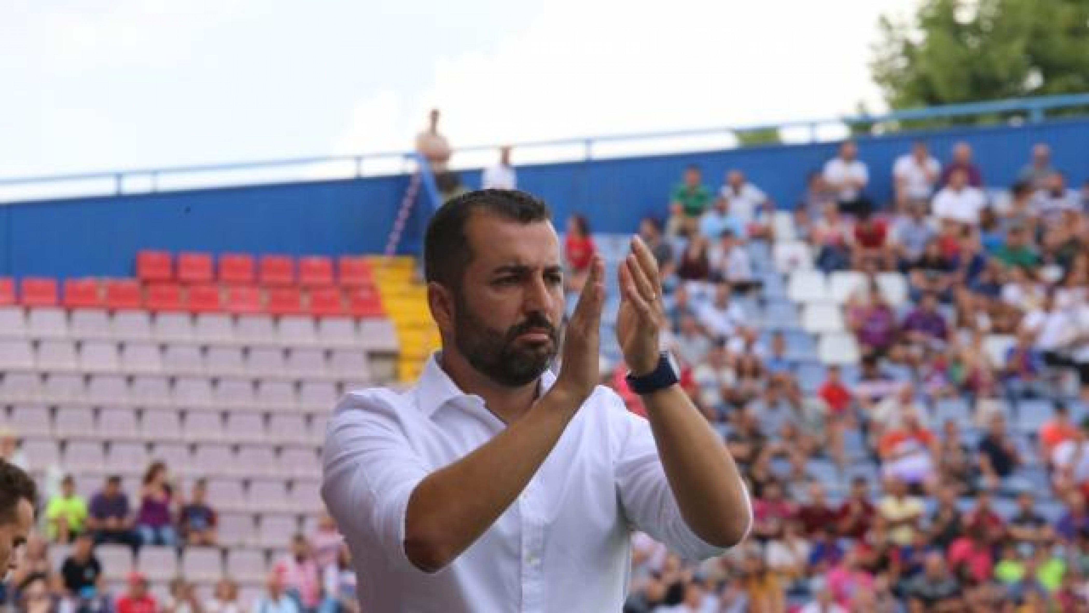 """Diego Martínez: """"El equipo ha conseguido un triunfo al que le doy mucho valor"""""""