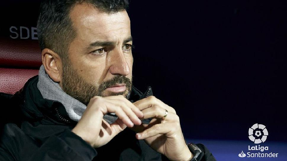 """Diego Martínez: """"El acierto nos está penalizando mucho"""""""