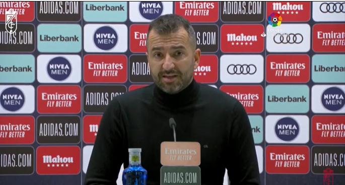 """Diego Martínez: """"El equipo ha tenido sus opciones ante un rival tan fuerte"""""""