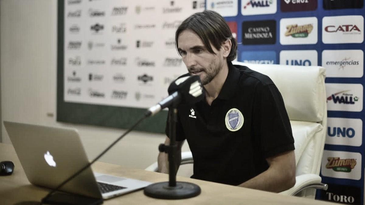 Diego Martínez se mostró conforme con el desempeño del equipo. Foto: Diario UNO.