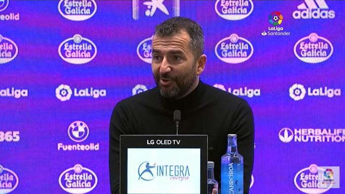 """Diego Martínez: """"Matemáticamente no estamos salvados, pero es un paso de gigante"""""""