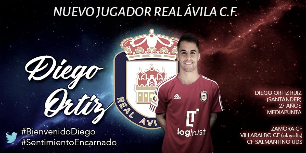 Diego Ortiz es nuevo jugador del Real Ávila