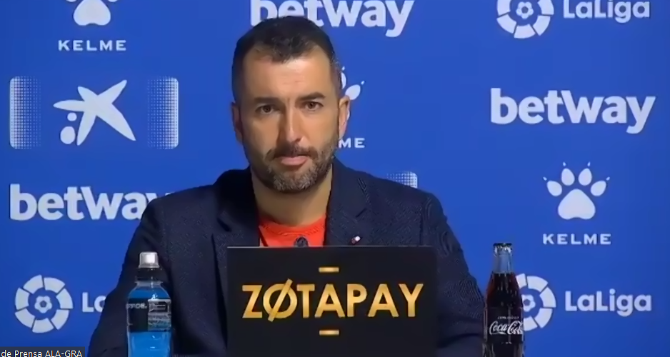 """Diego Martínez: """"Cumplimos el sueño de principio de la temporada, la permanencia"""""""