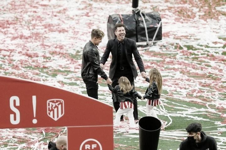 """Diego Simeone: """"Que este año nos haya tocado ser campeón le da mucho más valor"""""""