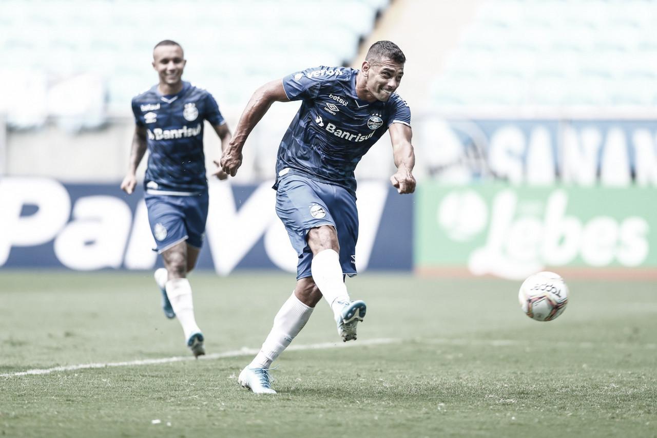 Diego Souza volta às atividades após cumprir isolamento por causa da Covid-19