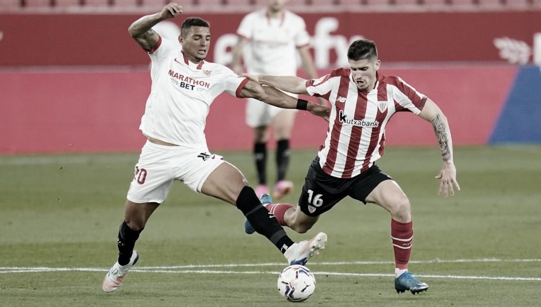 Alerta amarilla en la defensa del Sevilla