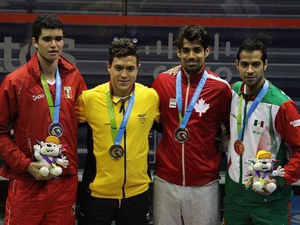 Toronto 2015: Diego Elías da las dos primeras medallas para Perú