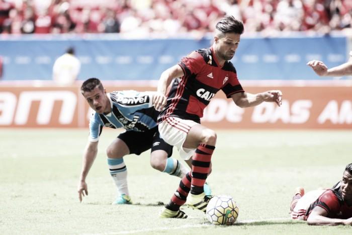 Diego afirma que duelo contra o Palmeiras é importante, mas não decide campeonato