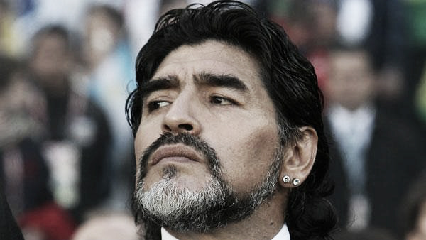 Diego Maradona pisó suelo argentino