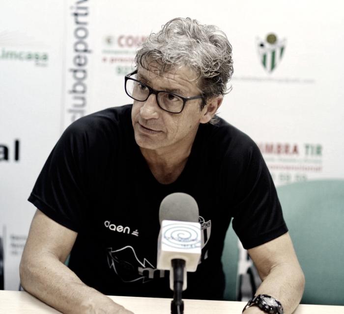 """Jordi Fabregat: """"Estoy viendo un Guijuelo que en cada entrenamiento va atacando mejor"""""""
