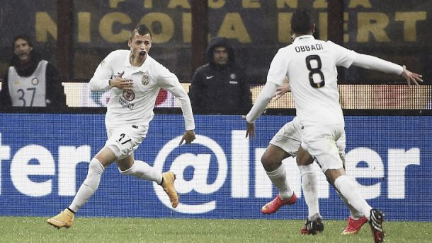 Nico López, Avenatti y Granoche golearon en Italia
