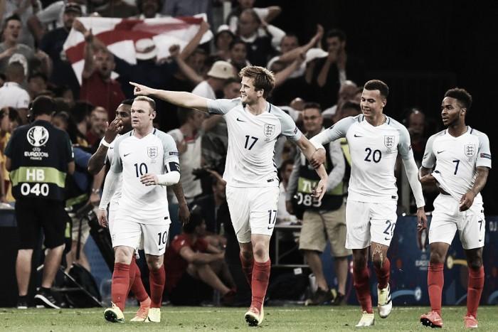 Dier, MVP de Inglaterra en el primer partido de la Euro 16'