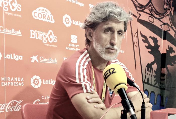 """Pablo Alfaro: """"El objetivo son los tres puntos"""""""