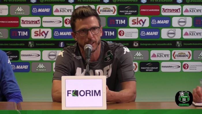 """Sassuolo, Di Francesco verso la Stella Rossa: """"Siamo preparati adeguatamente per la sfida"""""""