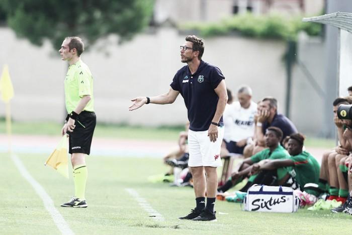 """Sassuolo, Di Francesco non si accontenta: """"Voglio una squadra determinata, non presuntuosa"""""""