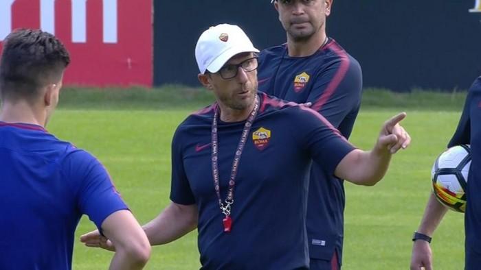 """Roma, Di Francesco: """"Grande disponibilità da parte di tutti. Tottenham? Mi aspetto una crescita"""""""