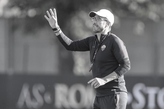"""Roma, Di Francesco verso il Napoli: """"Gara molto importante. Domani uscirà l'anti-Juve"""""""