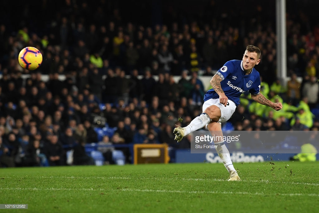 Everton 2-2 Watford: Second-half drama as Digne saves the Toffees in the last seconds