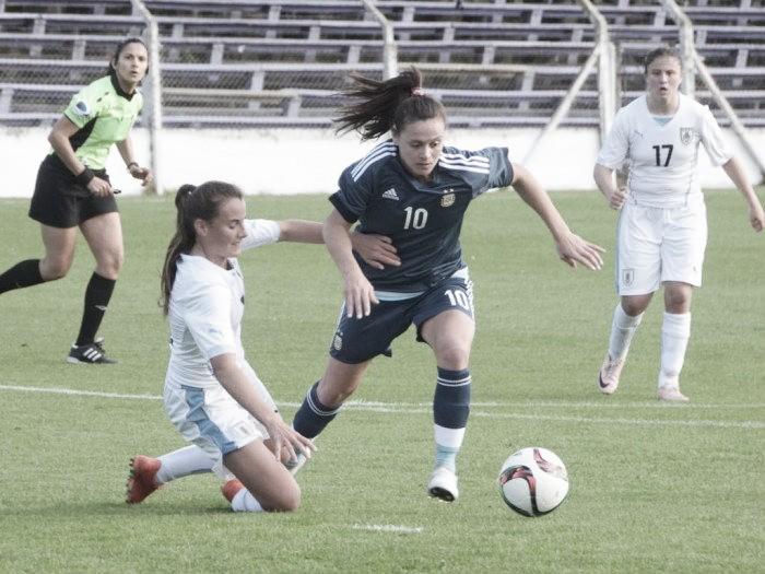 Fútbol femenino: Argentina goleó a Uruguay