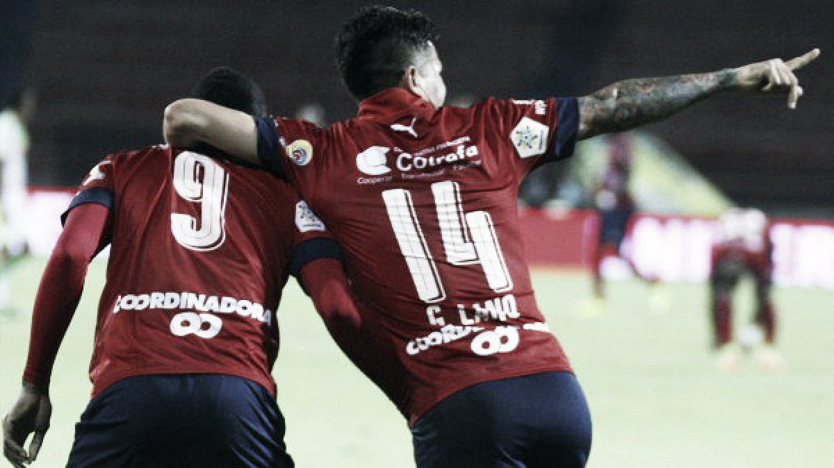 Independiente Medellín, con una de las duplas goleadoras en doce fechas de la Liga Águila 2018-I