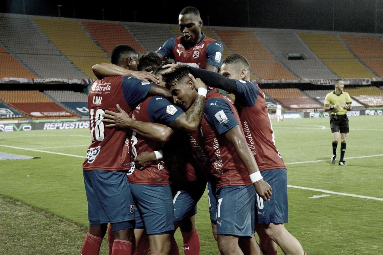Los datos que dejó la clasificación del Medellín en la Copa BetPlay ante Junior