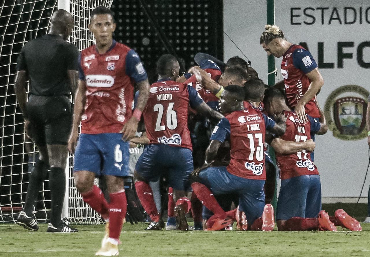 Independiente Medellín venció a domicilio al Atlético Bucaramanga