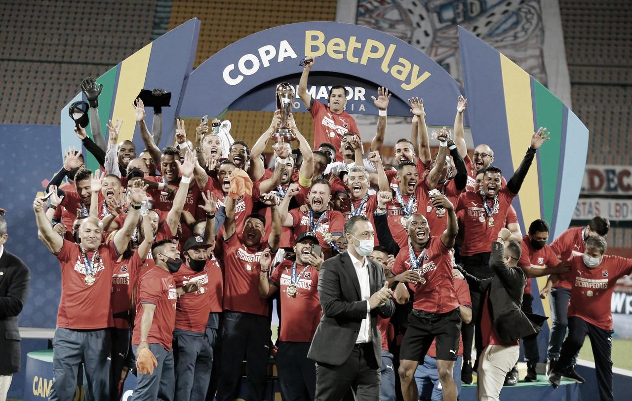 Independiente Medellín se consagró bicampeón de la Copa BetPlay