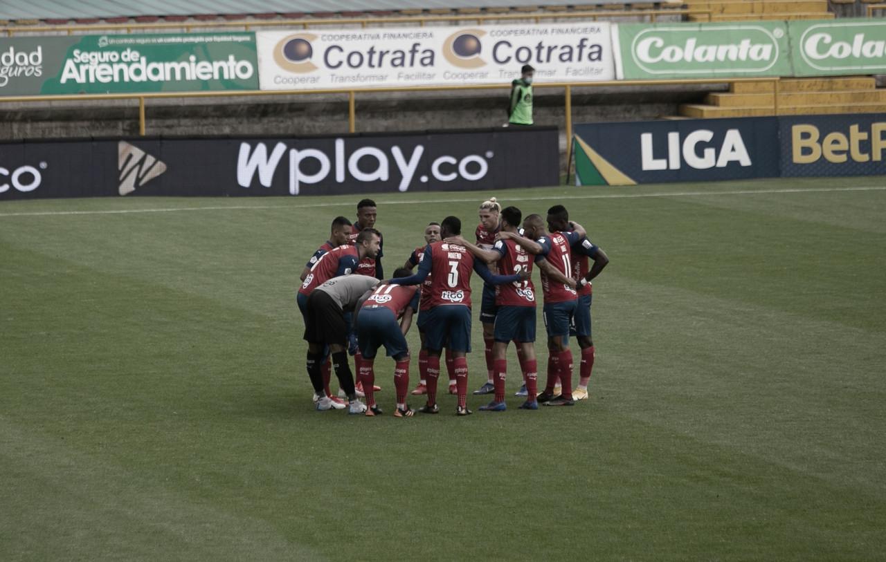Puntuaciones en el DIM tras el empate contra La Equidad en la fecha 4 de la Liga 2021-II