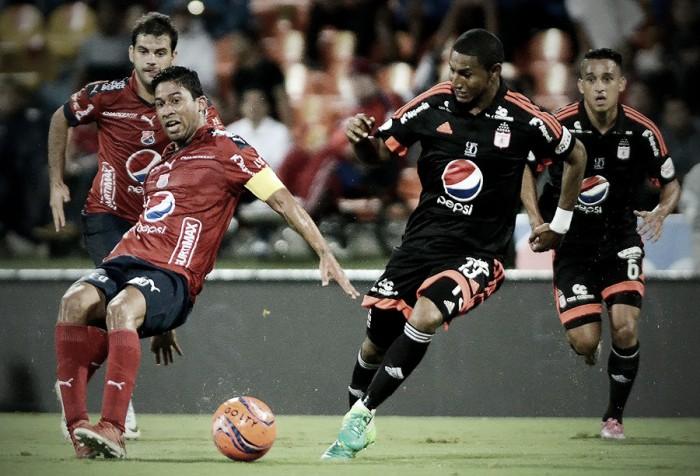 Medellin y América empataron a dos goles en el Atanasio