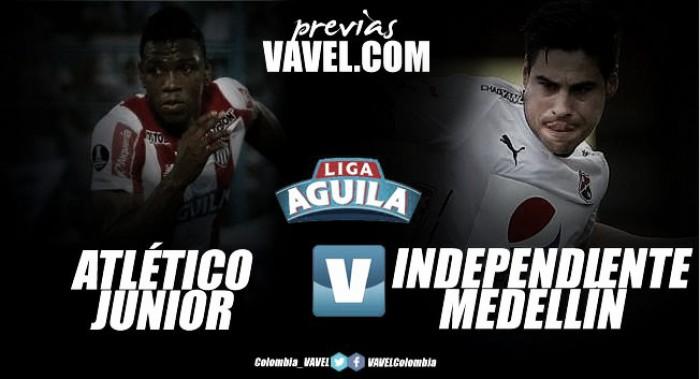Atlético Junior - DIM: el 'rojo' no quiere bajar la guardia
