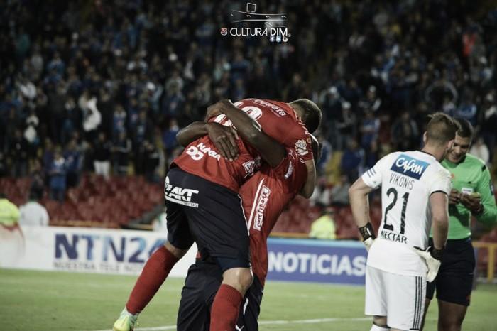 El DIM ganó de visitante ante Millonarios