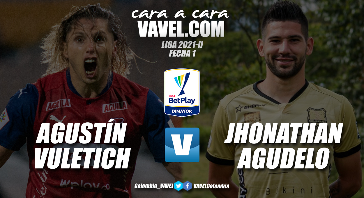Cara a cara: Agustín Vuletich vs Jhonathan Agudelo
