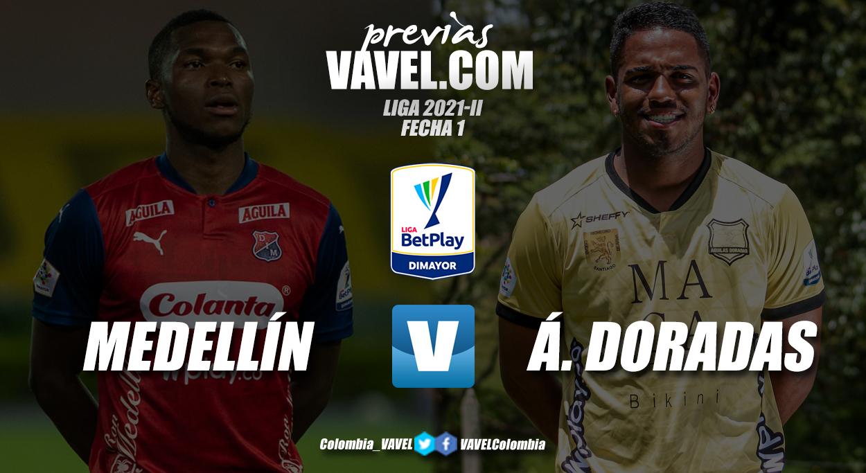 Previa Independiente Medellín vs Águilas Doradas: el regreso del fútbol colombiano con público