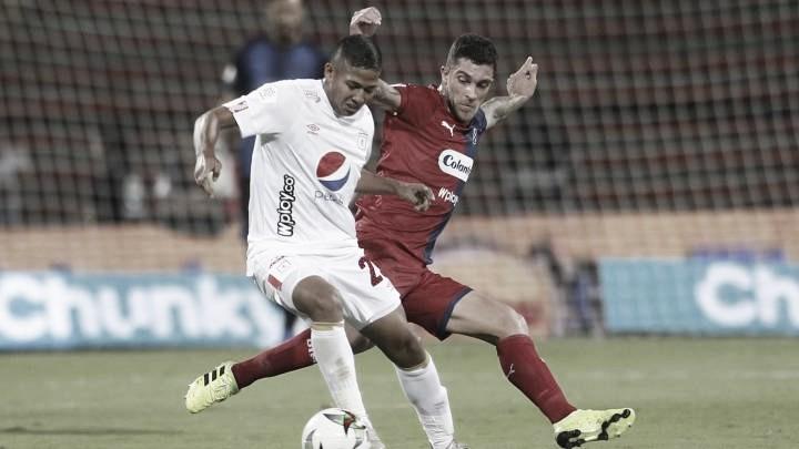 Datos de la derrota de América 4-1 ante Medellín