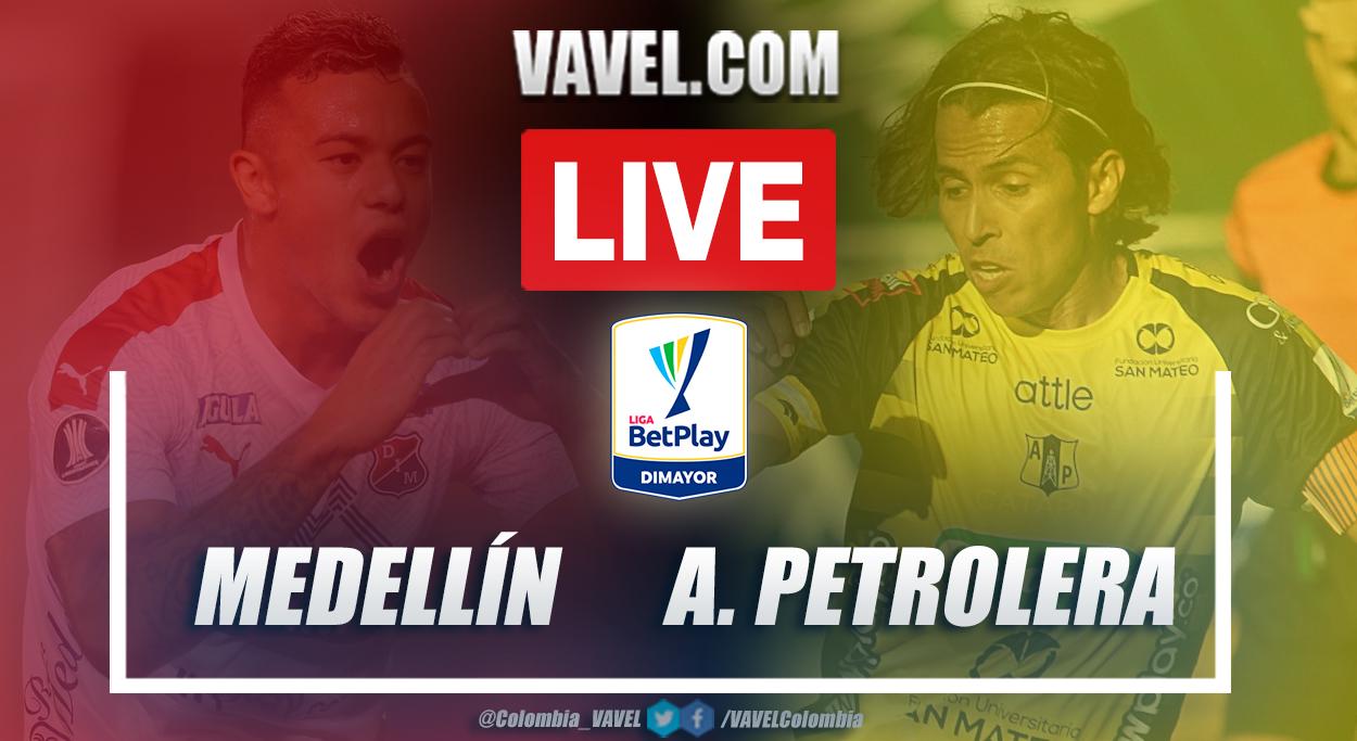 Resumen Medellín vs Alianza Petrolera (2-2) en la fecha 18 por Liga BetPlay 2021-I