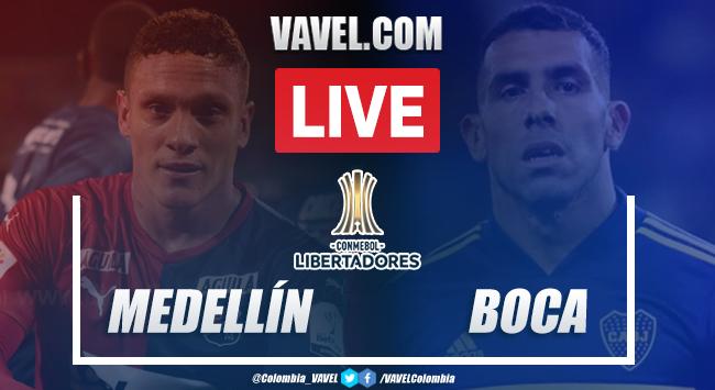 Resumen y goles: Medellín vs Boca Juniors (0-1) por Copa Libertadores