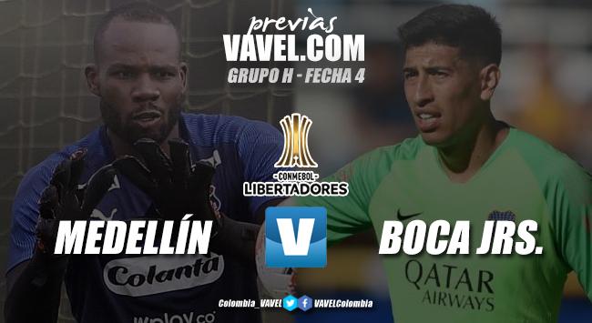 Previa Independiente Medellín vs Boca Juniors: el rojo lucha por no irse de boca a la eliminación