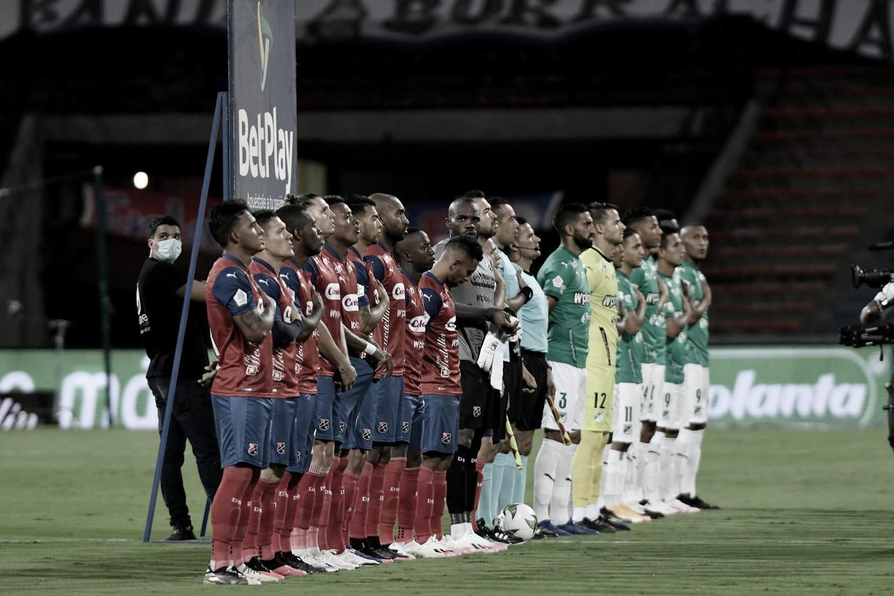 Datos del DIM en el empate frente al Deportivo Cali