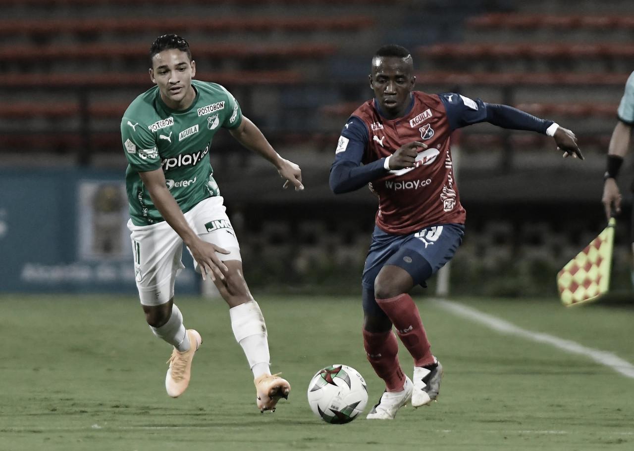 En un vibrante partido, Medellín y Cali empataron en el Atanasio