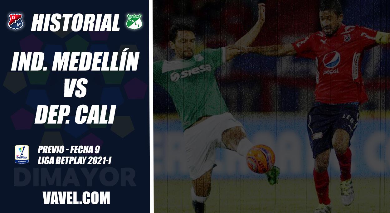 Historial Independiente Medellín vs Deportivo Cali: ventaja 'azucarera'