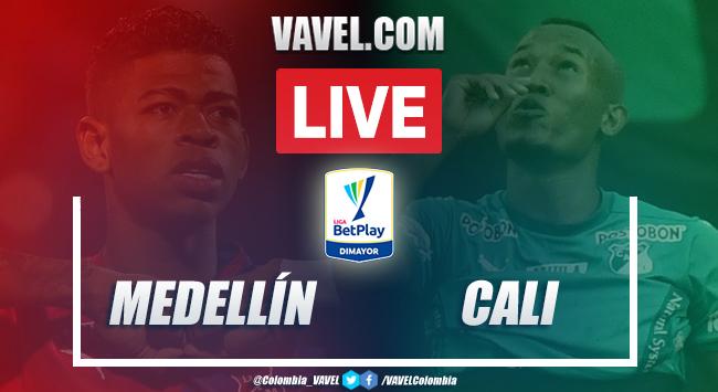 Resumen: Medellín vs Cali (2-3) por la Liga BetPlay