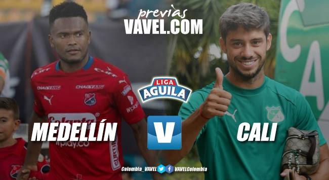 Previa Independiente Medellín vs Deportivo Cali: un clásico para buscar el renacimiento