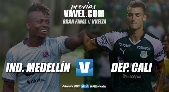 Previa Independiente Medellín vs. Deportivo Cali: el último sorbo de la Copa Aguila