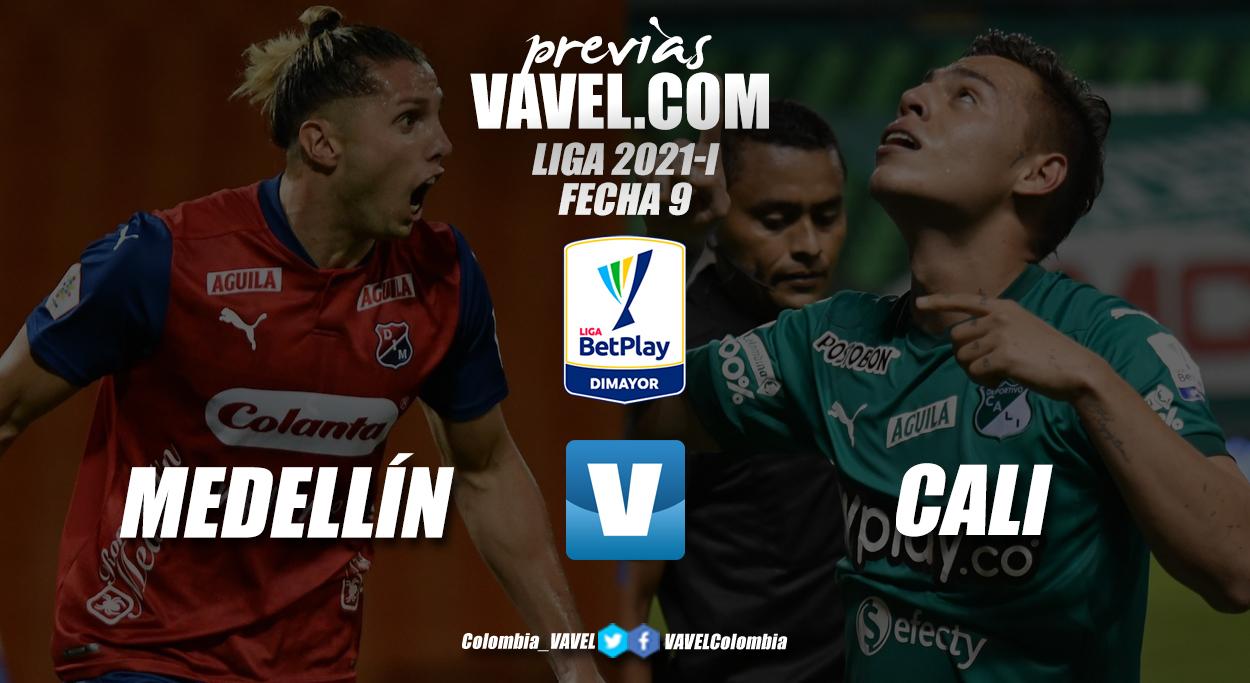 Previa Independiente Medellín vs Deportivo Cali: el 'poderoso' sale a la caza del líder