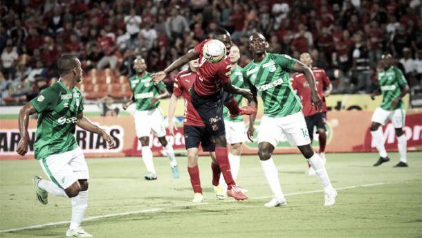 Resultado Medellín - Deportivo Cali por la Copa Águila 2015 (2-0)